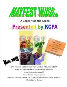 Mayfest Music Poster 2015