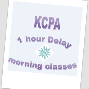 KCPA 1 Hour Delay Today 2-20-18 For Morning Classes.