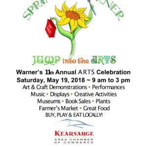 KCPA Spring Into Warner Saturday May 19th 10:00-1:00