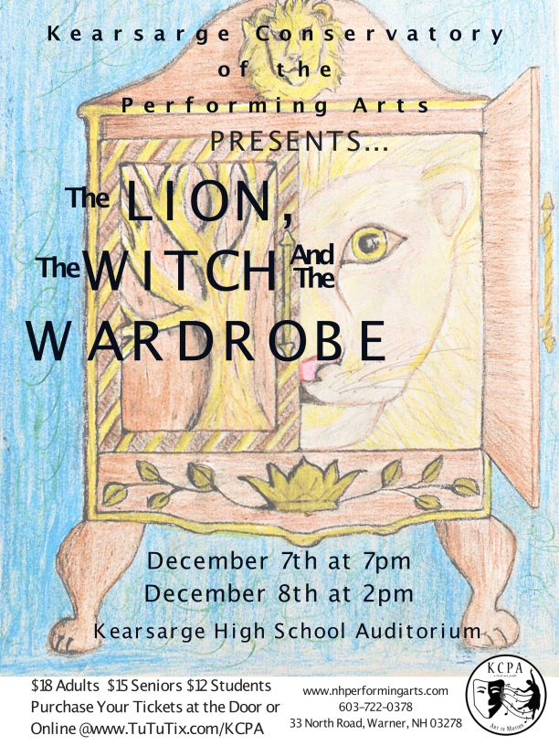 KCPA New Holiday Show THE LION THE WITCH AND THE WARDROBE