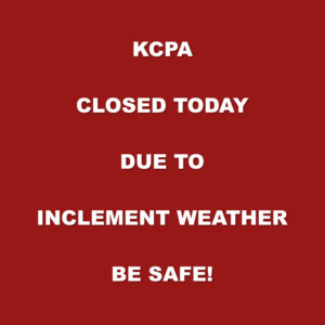 KCPA Closed Today 1-9-19